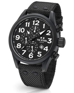 Volante Chronograph Web Strap Watch