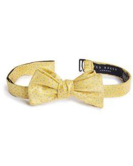 Jacquard Micro Dot Silk Bow Tie