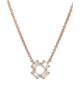 Sadie Diamond Pendant Necklace