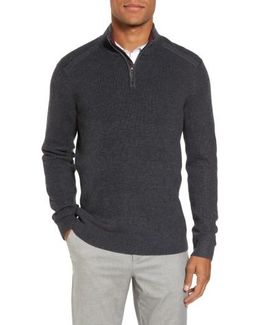 Stach Quarter Zip Sweater