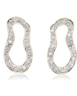 Riva Pod Diamond Drop Earrings