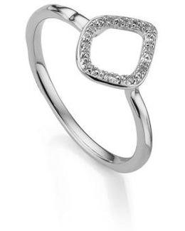 Riva Mini Kite Diamond Stacking Ring