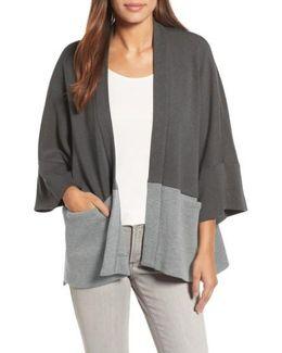 Wool Kimono Cardigan