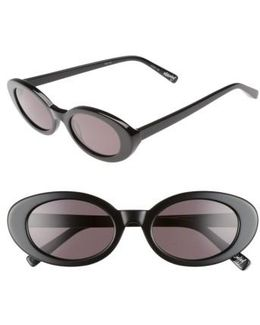 Mckinely 51mm Oval Sunglasses