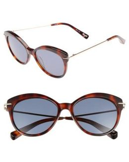 Wright 53mm Cat Eye Sunglasses