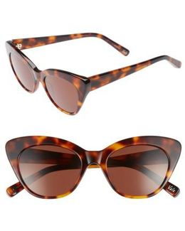 Vale 52mm Cat Eye Sunglasses