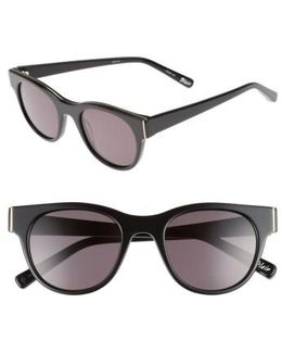 Blair 50mm Cat Eye Sunglasses