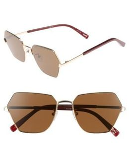 Henly 56mm Sunglasses