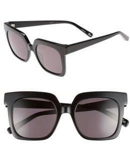 Rae 51mm Square Sunglasses