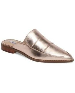 Porter Pointy Toe Loafer Mule