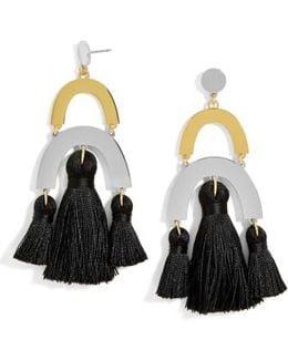 Shamia Tassel Drop Earrings