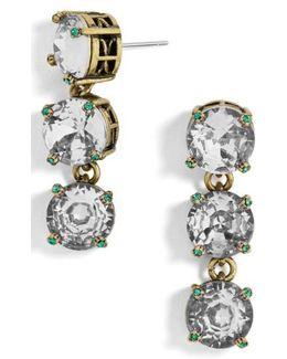 Cariana Crystal Drop Earrings