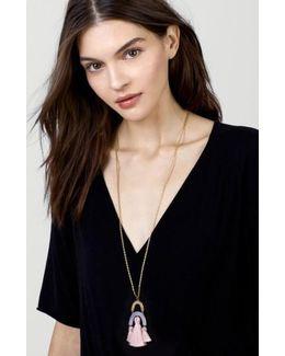 Buablebar Shamia Tassel Pendant Necklace