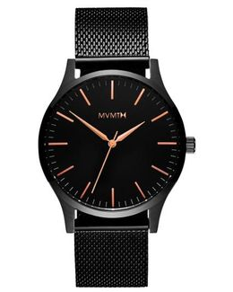 The 40 Mesh Strap Watch