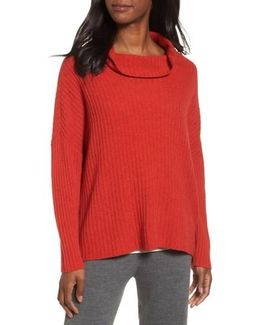 Ribbed Wool & Yak Sweater