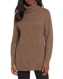 Turtleneck Alpaca Sweater