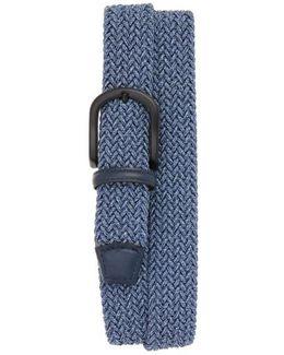 Braided Melange Belts