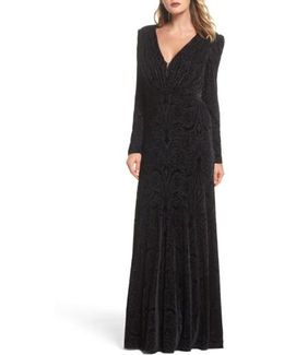 Plunge Burnout Gown