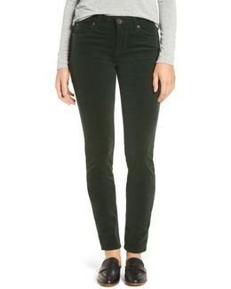 Diana Stretch Corduroy Skinny Pants