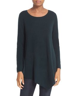 'tambrel' Asymmetrical Sweater Tunic