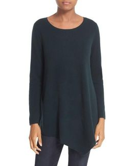 'tambrel' Asymmetrical Sweater Tunic