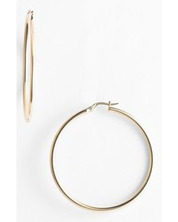 45mm Gold Hoop Earrings