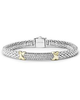 'diamond Lux' Diamond Rope Bracelet