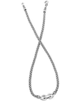 'derby' Buckle Rope Necklace