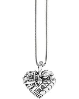 'hearts Of - New York' Long Pendant Necklace