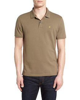 'Vx Stretch' Tailored Fit Pique Polo