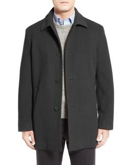 Italian Wool Blend Overcoat