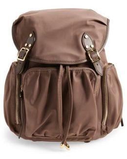 'marlena' Bedford Nylon Backpack