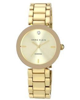 Mirror Bezel Bracelet Watch