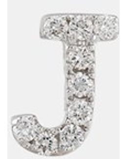 Single Initial Earring (nordstrom Exclusive)
