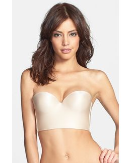 Essentials Convertible Underwire Longline Push-up Bra