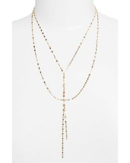 'mega Blake' Lariat Necklace