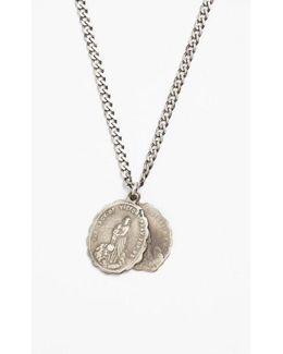 'saints' Pendant Necklace