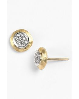 'delicate' Diamond Stud Earrings