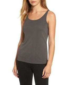 Long Scoop Neck Camisole