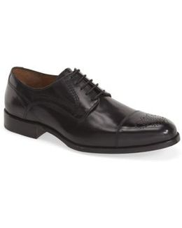 'stratton' Cap Toe Derby