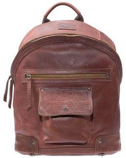 'silas' Backpack - Metallic