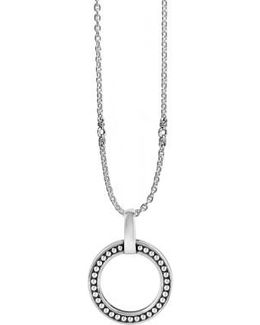 'enso' Caviar Pendant Necklace