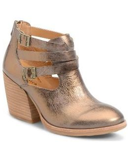 Stina Leather Ankle Boots