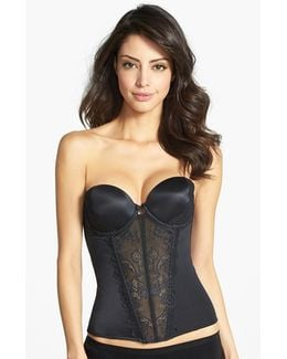 'caress Too' Lace Underwire Bustier