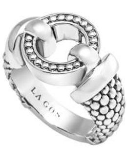 'enso' Caviar(tm) Ring