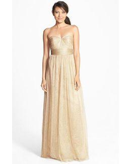 'annabelle' Convertible Tulle Column Dress