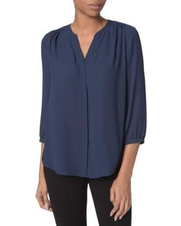 Pleat Back Blouse