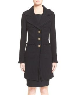Milano Pique Knit Coat