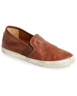 'Dylan' Leather Slip-On Sneaker (Women)