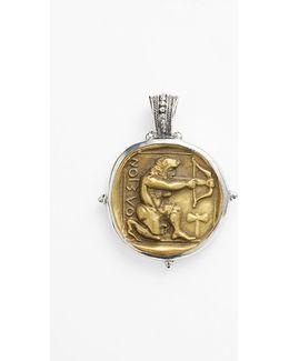 'byzantium - Hercules' Pendant